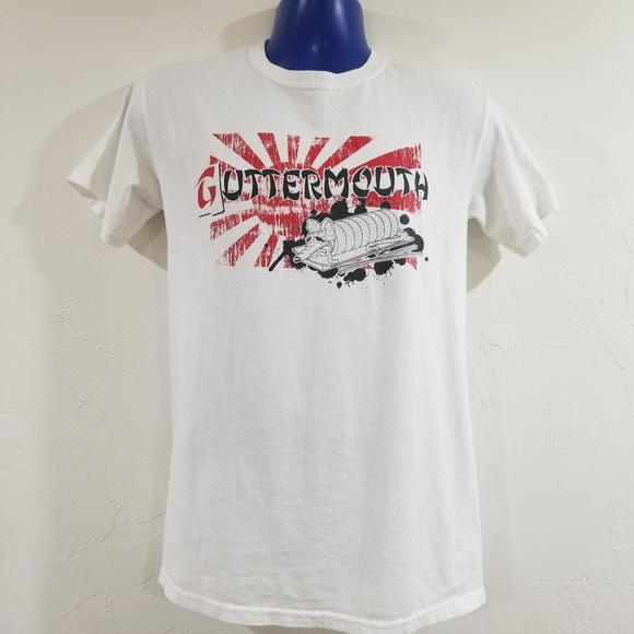 Guttermouth Punk Band Concert Shirt Screen Print